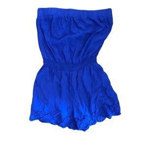 Cobalt Blue Romper